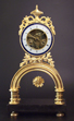 french bow-clock 'Chopin a Paris'