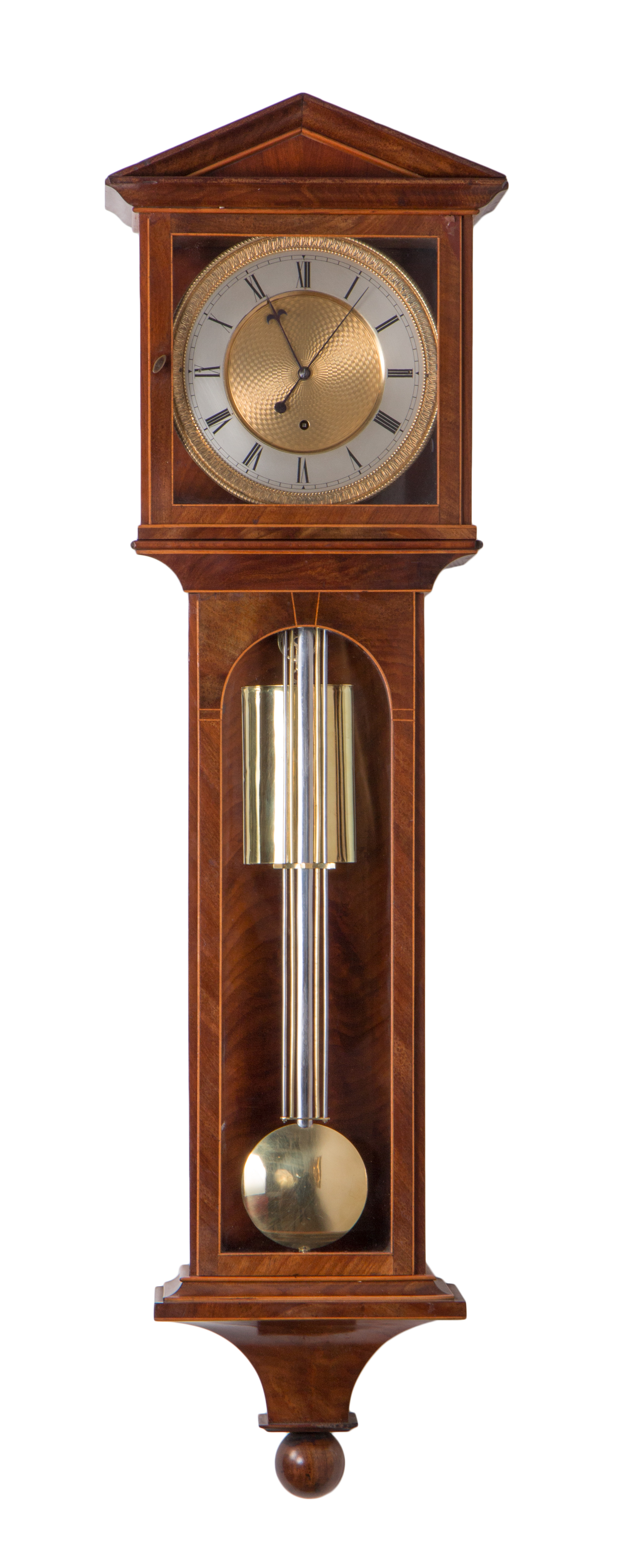 Small Laterndl clock with 35 days duration, c. 1830.