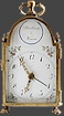 Viennese Carriage Clock with Alarm