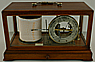 172. A FINE AND RARE 'DUTCH' BAROGRAPH WITH BAROMETER DIAL, signed 'L.J. HARRI. AMSTERDAM.', circa: 1904-1925.