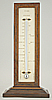 143. A RARE DUTCH DOUBLE-SIDED THERMOMETER, signed 'NOHR S' HAGE', circa: 1810-1830.