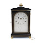 Ebonised striking Bracket Clock, James Reynolds