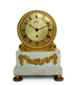 English Regency Drum Clock, c.1810
