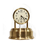 Short dome Electromagnetic Mantel Clock by Eureka Clock Co.
