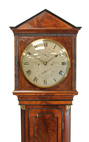 Domestic Regulator Longcase Clock – Tight, Reading
