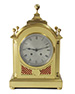 Brass Striking Bracket Clock by Peerless
