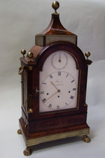 Quarter chiming bracket clock signed Barrauds, Circa 1800.  £17000.00