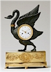 Empire Mantel Clock in the Form of a SwanFrench or German (Berlin), Circa 1805-1815