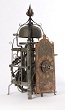 A South German Gothic iron chamber clock with alarm, circa 1600.