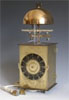 JAPANESE DOUBLE FOLIOT STRIKING LANTERN CLOCK.
