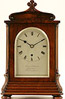 Cousens & Whiteside, Berkley square. An extremely elegant rosewood library timepiece.