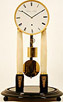 A RARE 8 DAY WEIGHT DRIVEN VIENNESE TABLE CLOCK BY