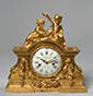 The Victory of Science, Rare Finely Chased and Gilt Bronze Mantel Clock, Paris, early Louis XVI period, circa 1775