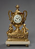 Important Chased Gilt Bronze Neoclassical Clock. Charles-Cécile Filon and Robert Osmond. Paris, early Louis XVI period, circa 1775