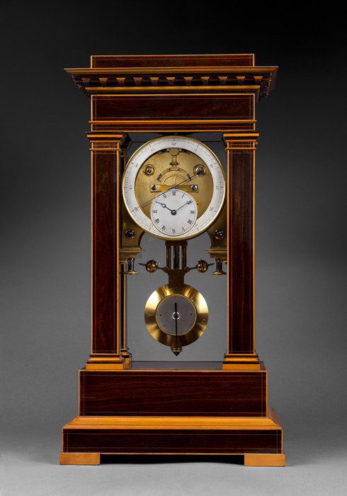 Rare Precision Regulator Mantel Clock 