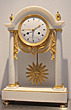 9974 A very fine ormulu mantel clock, ca. 1810.